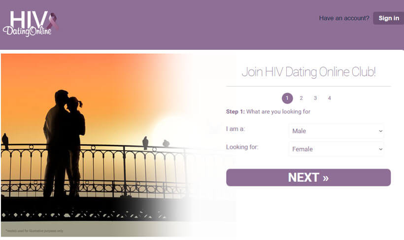 hiv dating online homepage